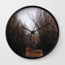 Bannack Overgrowth Wall Clock