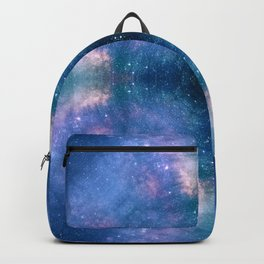 Abstract Geometric Celestial Galaxy Backpack