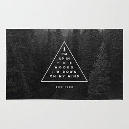 Woods -- Bon Iver Rug