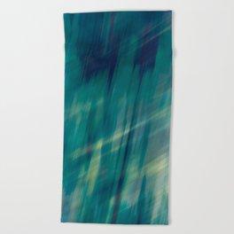 Submerge Aqua Beach Towel