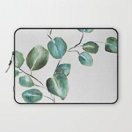 Eucalyptus leaves, illustration, botanical Laptop Sleeve