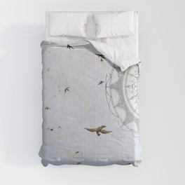 Losing Direction Comforters