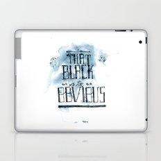 too obvious Laptop & iPad Skin