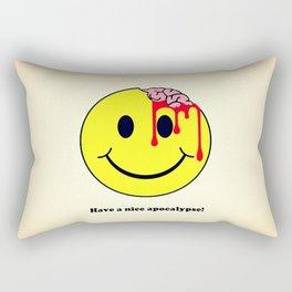 Have a nice apocalypse! Rectangular Pillow