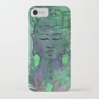 queer iPhone & iPod Cases featuring Queer Buddha ~ Wisdom II by Jamila