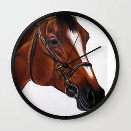 Warmblood Wall Clock