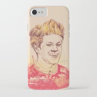 niall horan iPhone & iPod Cases featuring Niall Horan by vanessa