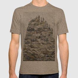 wall and tree T-shirt