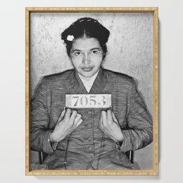 Rosa Parks Mugshot Serving Tray