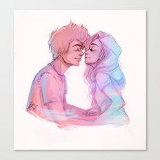 Lilac Sky Canvas Print