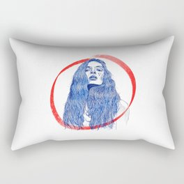 Girl Gang: Not Sorry Rectangular Pillow