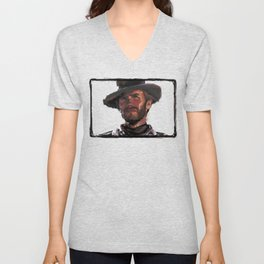 The Good - Clint Eastwood Unisex V-Neck