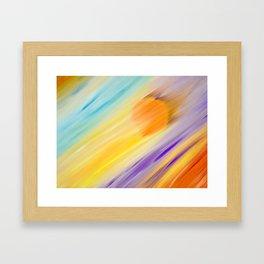 """Catch the Sun #1 – Sequel #2"" Oil Painting Framed Art Print"