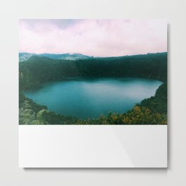 The Lake of the Living Spirals Metal Print