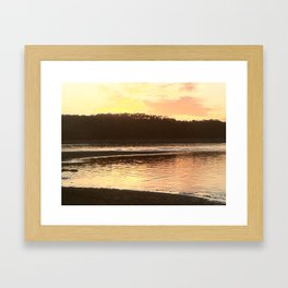 night water Framed Art Print
