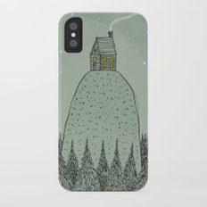 'The house on the hill' Slim Case iPhone X