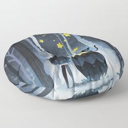 Little witch Floor Pillow