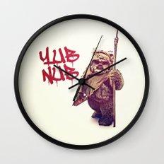 Yub Nub Wall Clock