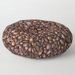 Coffee Bean Scene Floor Pillow