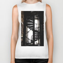 Trinity College Library Spiral Staircase Biker Tank