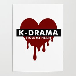 Kdrama stole my heart Poster