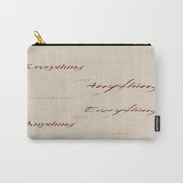 Everything Anything Carry-All Pouch