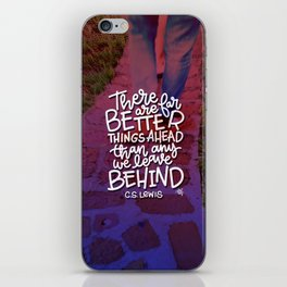 Better Things iPhone Skin