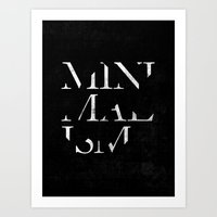 minimalism Art Prints featuring Minimalism by Roni Lagin & Co.