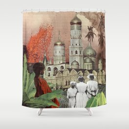 Créme de la Kremlin Shower Curtain
