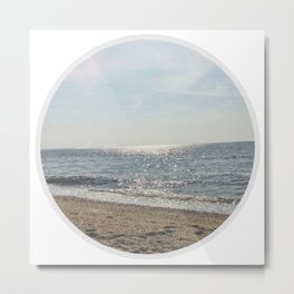 Faded Seashore Metal Print