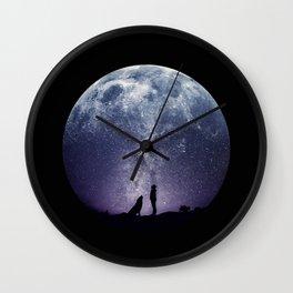 Stargaze Wall Clock