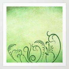 Beautiful greenery Art Print