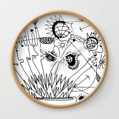 Trip the Light Fantastick Wall Clock
