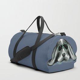 Cool Basset Hound Duffle Bag
