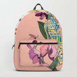BIRD AND FOULARD 2 Backpack