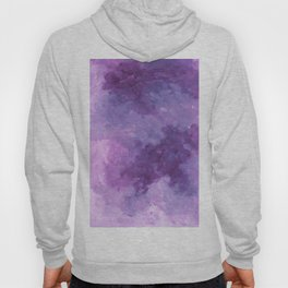 Violet Abstract Hoody