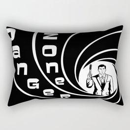 DANGA ZONE Rectangular Pillow