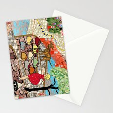 Urban Sightings Collage Stationery Cards