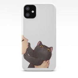 cat : huuh iPhone Case
