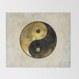 Yin and Yang Throw Blanket