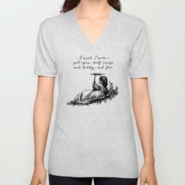 Wuthering Heights - Emily Bronte Unisex V-Neck