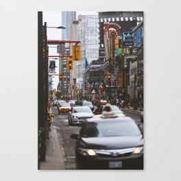 Yonge St. Toronto Canvas Print