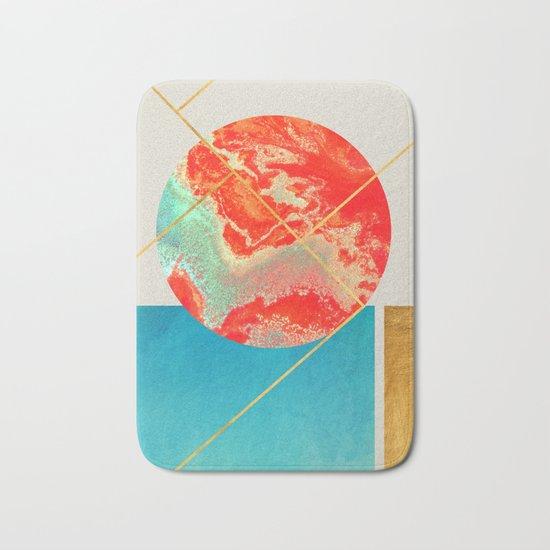 Earth & Sea #society6 #decor #buyart Bath Mat