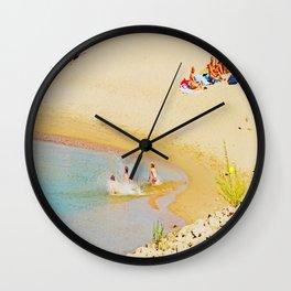 Beach Flair Wall Clock