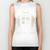 doctor who Biker Tanks featuring Doctor Who by LukeMorgan