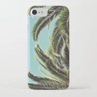 palms iPhone & iPod Cases featuring Palms by Lawson Images