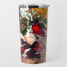 Floral and Birds XXXI Travel Mug
