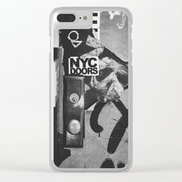 NYC Doors Clear iPhone Case