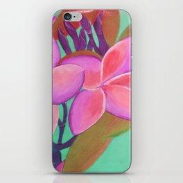 Pink Flowers Pink iPhone Skin