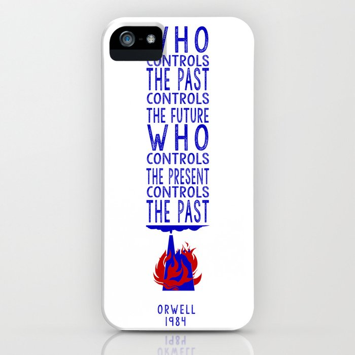 Orwell 1984 iPhone Case